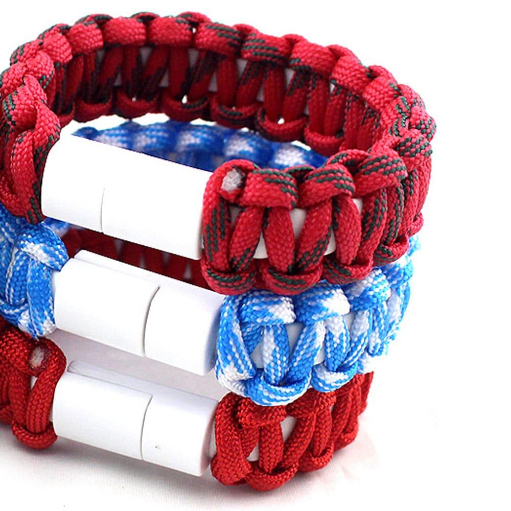 E-Shopper Chargband Armband alle Farben Stapel