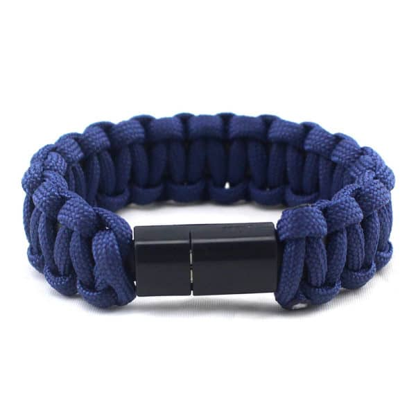 E-Shopper Armband Nylon dunkelblau