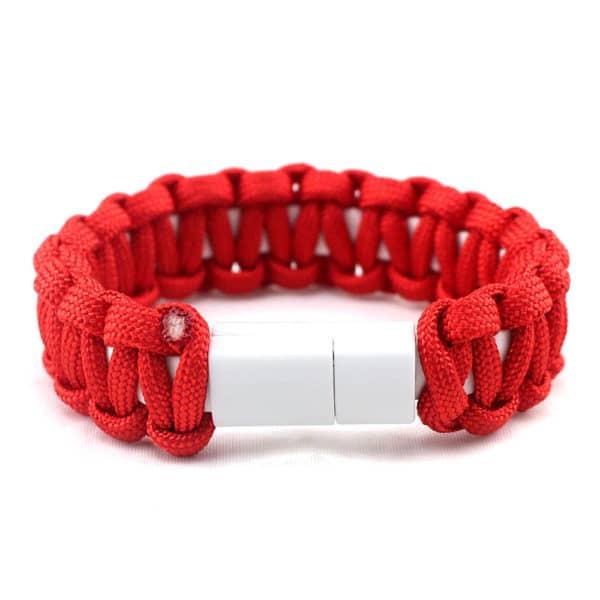E-Shopper Armband Nylon rot