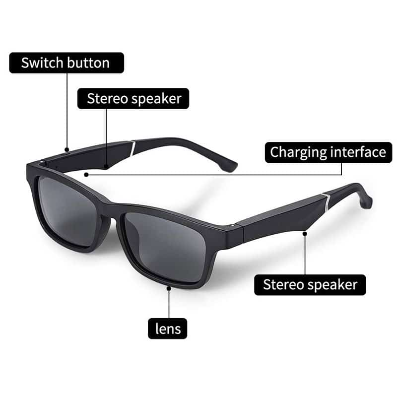 E-Shopper Bluetooth Brille Sonnenbrille