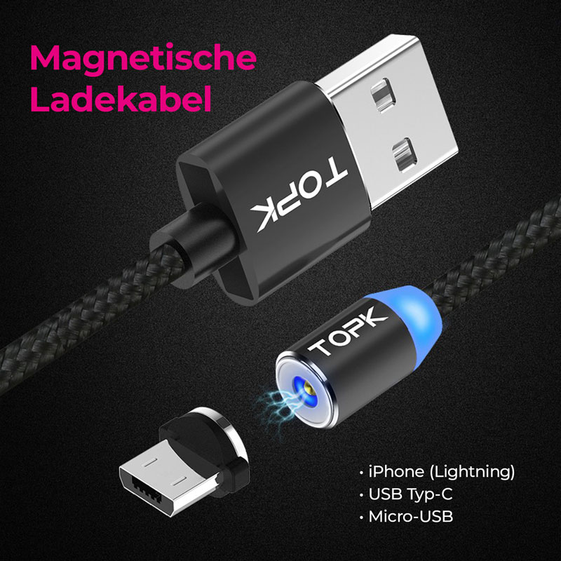 Banner Magnetische Ladekabel mobil E-Shopper