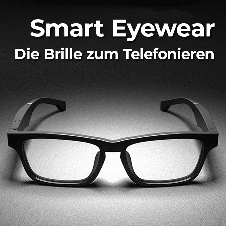 E-Shopper Bluetooth Brille Smart Eyewear