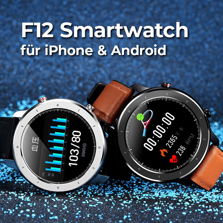 E-Shopper Smartwatch F12 Banner mobil