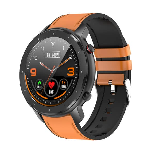 E-Shopper Smartwatch F12 sichwarz
