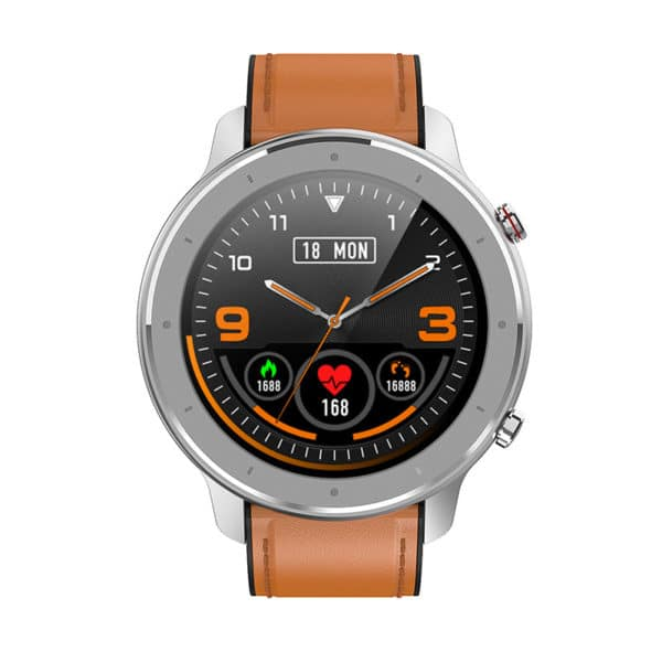 E-Shopper Smartwatch F12 silber