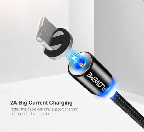 E-Shopper USB Ladekabel Silber