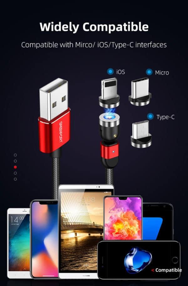 USB Ladekabel 180 Grad E-Shopper