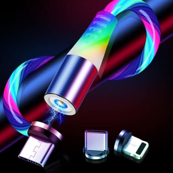 Luminous Magnetic Cable E-Shopper