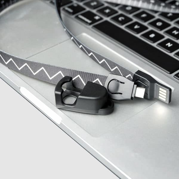 E-Shopper Lanyard USB Ladekabel