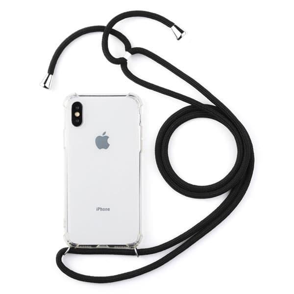 E-Shopper Handyhülle mit Kordel zum Umhängen für iPhone