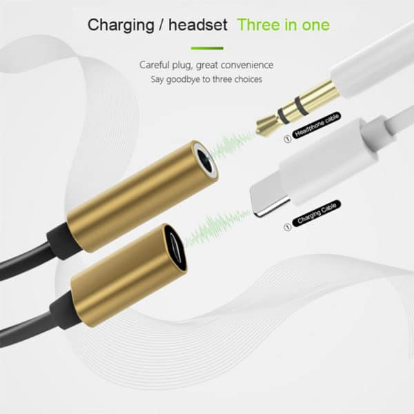 E-Shopper 2in1 Splitter Lightning 8-pin Adapter