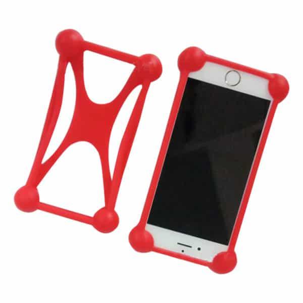 E-Shopper 360 Grad Handyschutz rot