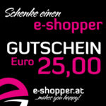 e-shopper Gutschein Euro 25,00