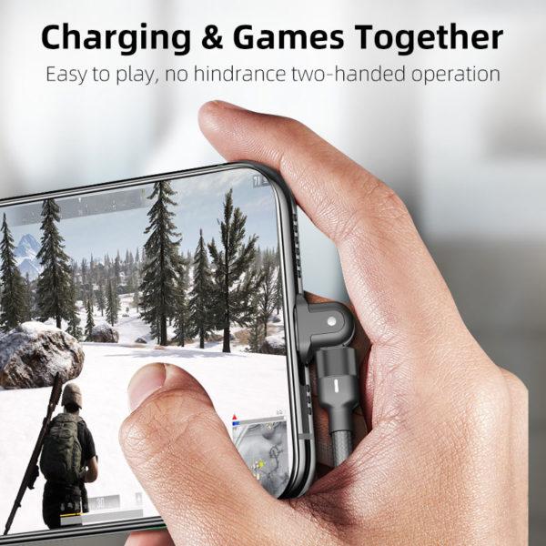 E-Shopper 180 Grad Greenport Ladekabel Datenkabel