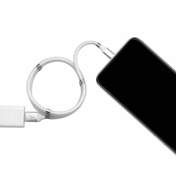 E-Shopper SuperCall Selfwinding Ladekabel Datenkabel