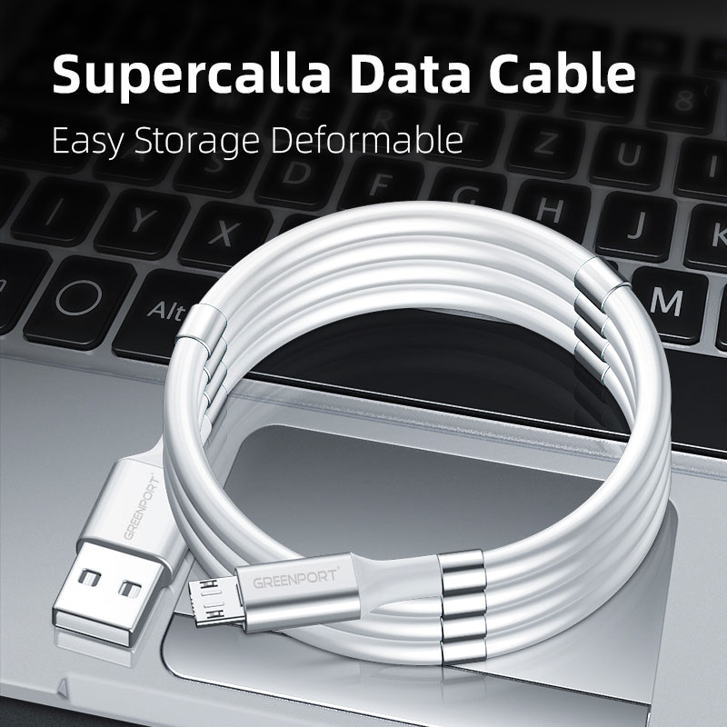 E-Shopper SuperCall Selfwinding Ladekabel Datenkabel