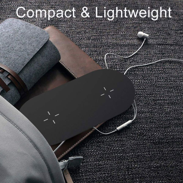 E-Shopper 3in1 Wireless Charging Ladestation
