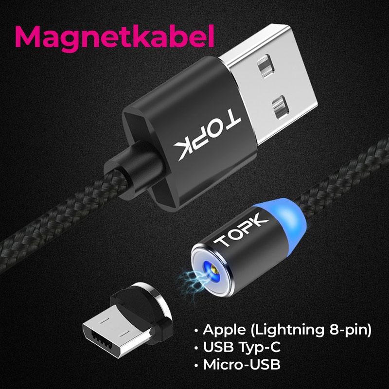 Magnetkabel Magnetladekabel Ladekabel Datenkabel