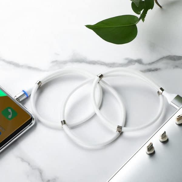 E-Shopper Supercalla 3in1 Magnetkabel Ladekabel Datenkabel mit Stecker