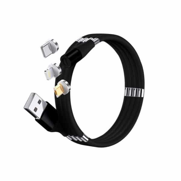 E-Shopper Supercalla 3in1 Magnetkabel schwarz