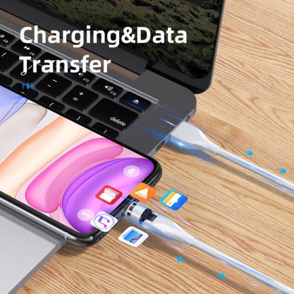 E-Shopper 540 Grad Magnet Ladekabel Datenkabel