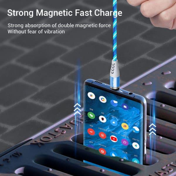 E-Shopper Luminous Lightning blau