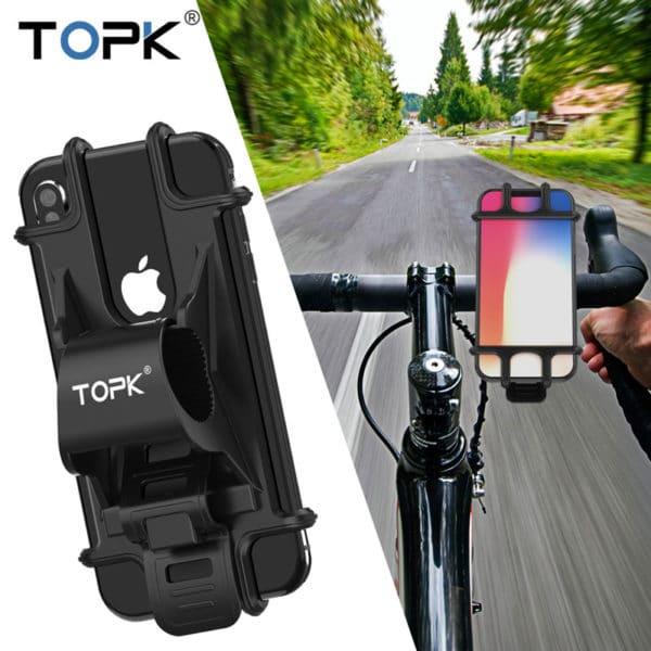 E-Shopper Rutschfeste Universal Motorradhalterung Fahrradhalterung