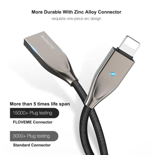 E-Shopper iPhone iPad USB Schnellladekabel Datenkabel